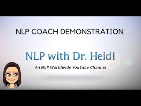 NLP Coaching Demonstration - September