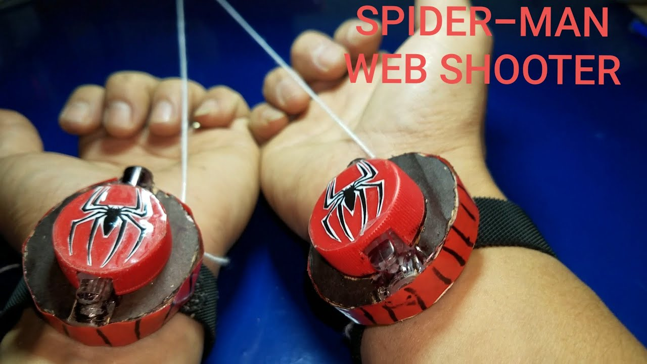 How to Make a SPIDER-MAN WEB SHOOTER at home - YouTube