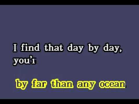 DK077 13   Standard   Day By Day [karaoke]