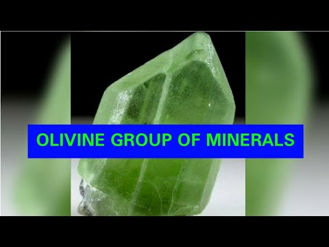 OLIVINE GROUP OF MINERALS