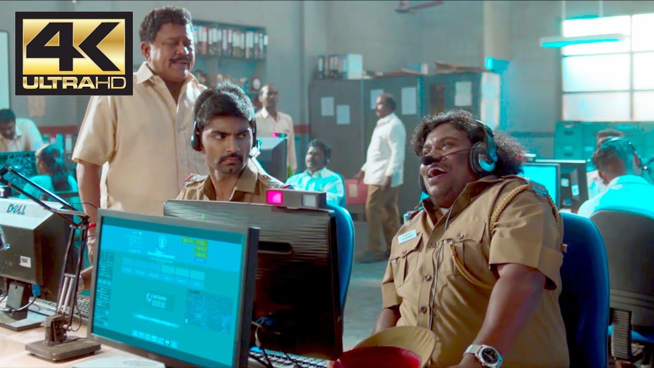 Download Yogi Babu intro comedy scene | 100 Movie | 4K (English Subtitle)