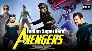 INDIAN Avengers Krrish, Flying Jutt, G.One, MR.X ,Robot ,The Devil
