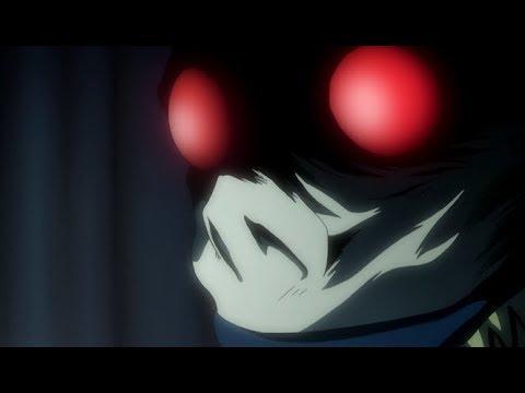 Рюк предлагает Лайту сделку ,   на покупку Глаз бога смерти. Тетрадь смерти .Death Note