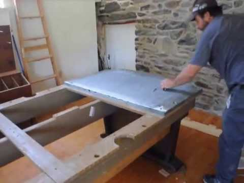Pool Table Assembly Obtained By Barter YouTube - Pool table assembly near me