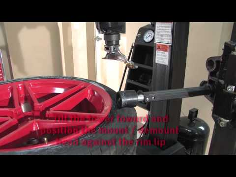 John Bean EHP System IV & V Tire Changers - EMT and Run-Flat Tire Removal Tips