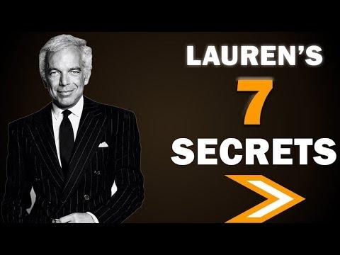7 Secrets To Billion Dollar Success From Ralph Lauren