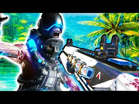 ESCAPE THE ZOMBIE SHIP! | CARRIER EASTER EGG! | CALL OF DUTY ZOMBIES