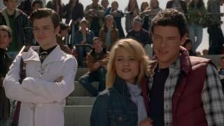 GLEE Full Performance of Somewhere Only We Know