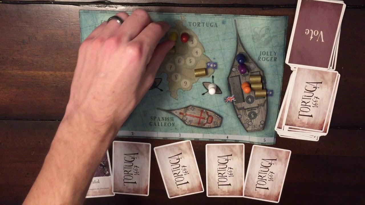 Tortuga 1667 Card Game