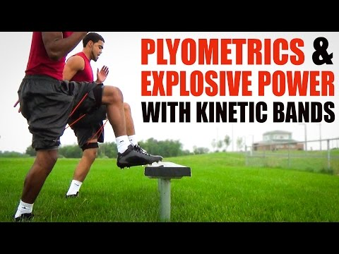 Speed Training Plyometrics Explosive Power with Kinetic Bands