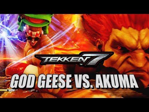 GOD GEESE VS. AKUMA - Week Of! Geese: Tekken 7 DLC