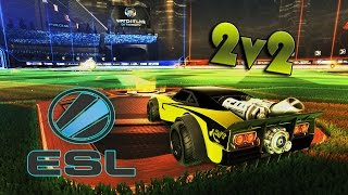 Турнир на ICE CHARGER! | ESL 2v2 Round 1&2 | Rocket League
