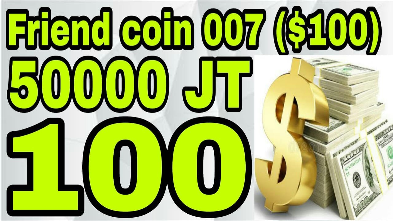 $100 |100$ friends AIrdrop|37000 JT Airdrop| join fast its limited