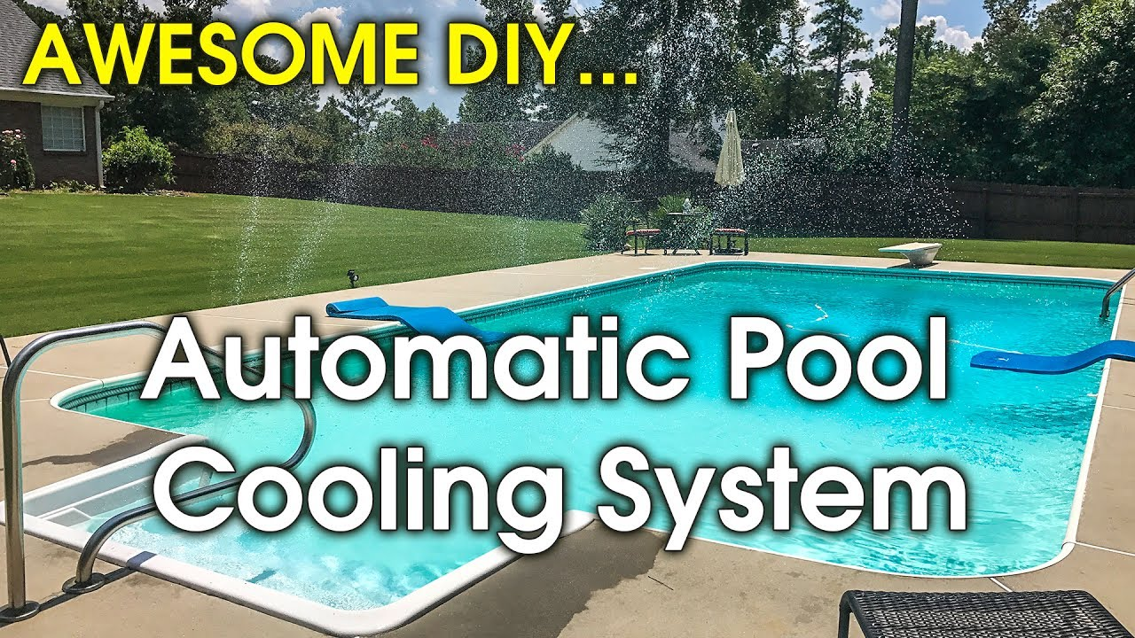 How to Cool Swimming Pool - DIY Pool Fountain