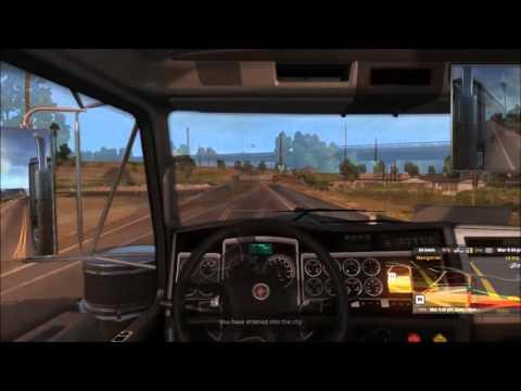 American Truck Simulator Crash