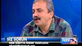 Teke Tek - Sırrı Süreyya Önder - 28 Mayıs 2013 - 3/3