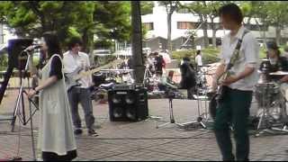 Da monde / Baccano!野外ライブ / 幽☆遊☆白書ED曲でライブしました