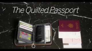 Companion, wallet QUILTED PASSPORT