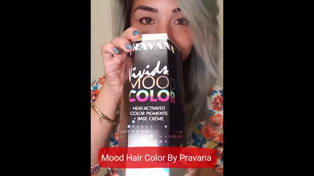 Heat Activated Mood Changing Hair Color By Pravana Youtube