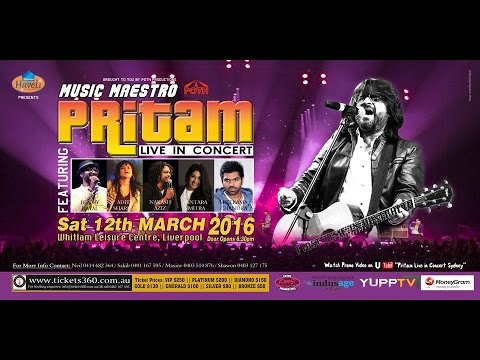 'Pritam Live in Concert ~ Sydney' Official Promo- The Biggest Bollywood Event of the Year !