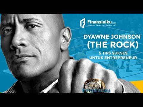 5 TIPS SUKSES Dwayne Johnson The Rock WWE Meraih Kesuksesan, Dari Pegulat hingga Aktor