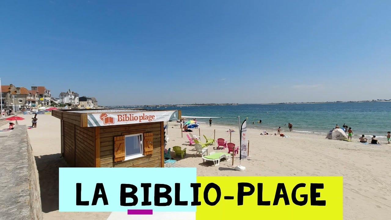 Biblio-plage de Larmor-Plage
