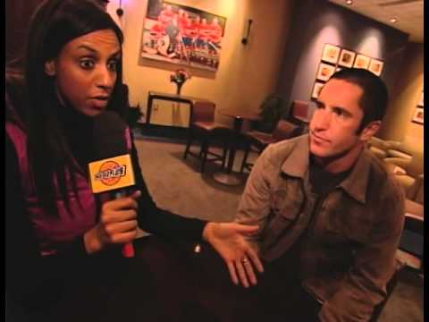 Nine Inch Nails @ Bell Center, Montreal 2005 M+ interview (1/2)