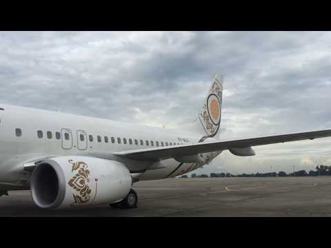 Myanmar National Airlines Flight Experience: UB 103 Yangon to Mandalay