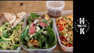 New year Healthy Lunch Ideas  -  3 Perfect Salads