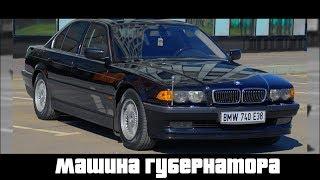 Такую BMW E38 ты еще не видел! Максималка в заводском состоянии!