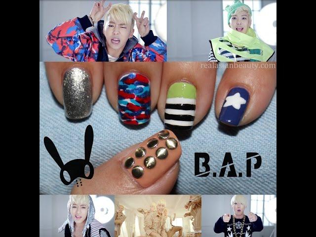 Modelos de Uñas Bonitos Kpop