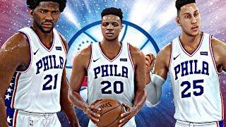 NBA 2K18 Rosters - New Look 76ers vs Chicago Bulls
