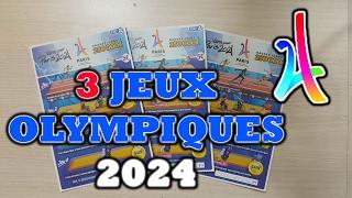 GRATTAGE DE 3 JEUX OLYMPIQUES 2024, CHAMPION ? 🏅💰