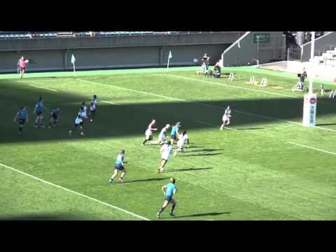 Pool A Kazakhstan v SriLanka Rio Olympic qualifying women's Seven's rugby tournament in Japan