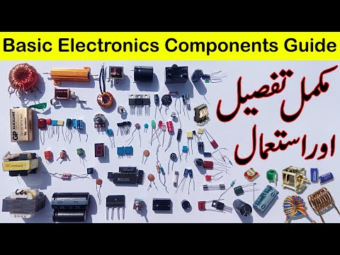 Basic Electronics Components Complete Information In Urdu/Hindi | Utsource Electronic Components
