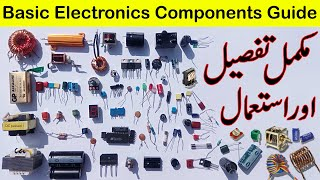 Baixar Basic electronics components complete information in Urdu/Hindi | utsource electronic components