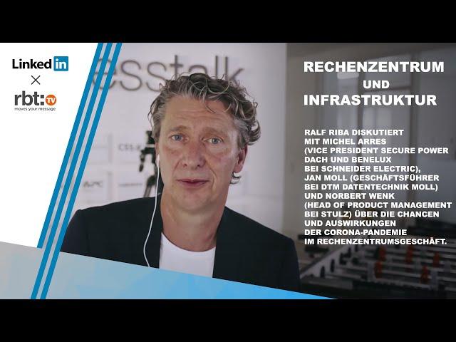 Paneldiskussion Rechenzentrum und Infrastruktur | Michel Arres, Jan Moll und Norbert Wenk