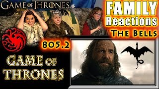 Game of Thrones | 805 | The Bells | FAMILY Reactions | Part 2