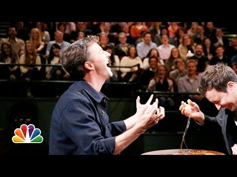 Egg Russian Roulette With Edward Norton and Jimmy Fallon (Late Night with Jimmy Fallon)