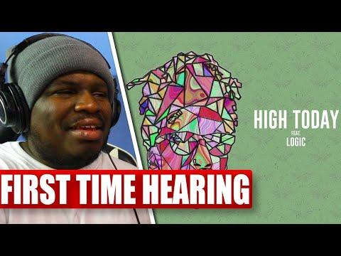 Wiz Khalifa - High Today feat. Logic [Official Audio] - REACTION