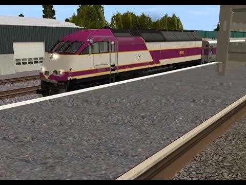 RTC Anderson Woburn MBTA and Amtrak Station (Trainz Simulator) LIVE!