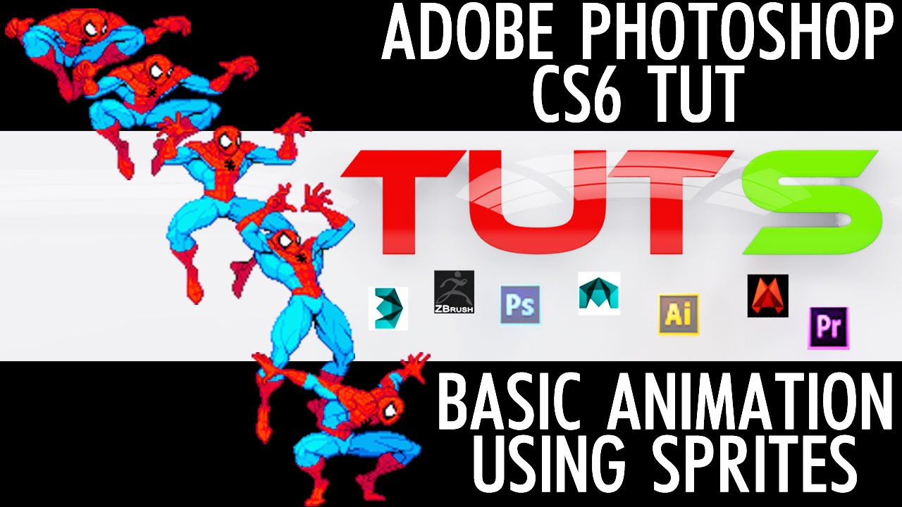 Adobe photoshop cs6 tutorial basic animation using sprites youtube adobe photoshop cs6 tutorial basic animation using sprites baditri Choice Image