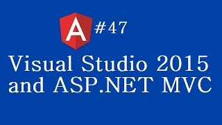 angular 2 tutorial 47 visual studio 2015 and asp net mvc
