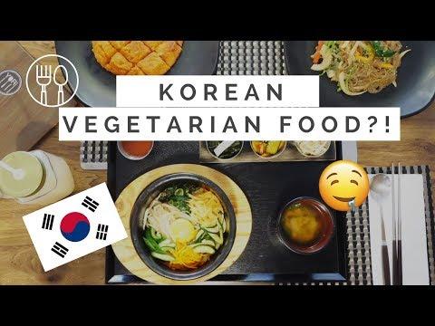 Korean VEGETARIAN/VEGAN food!