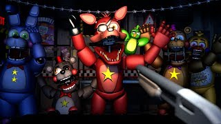 [SFM/FNAF] FPS FNAF Ultimate Custom Night Cheating And Jumpscare Fails Compilation