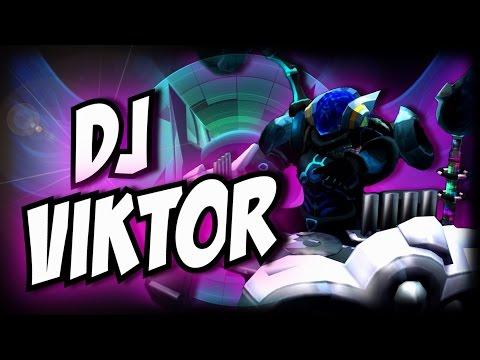 ¡DJ VIKTOR SKIN! | Rylai NERFED | Garmy | League of legends | Diamante como un puto pro