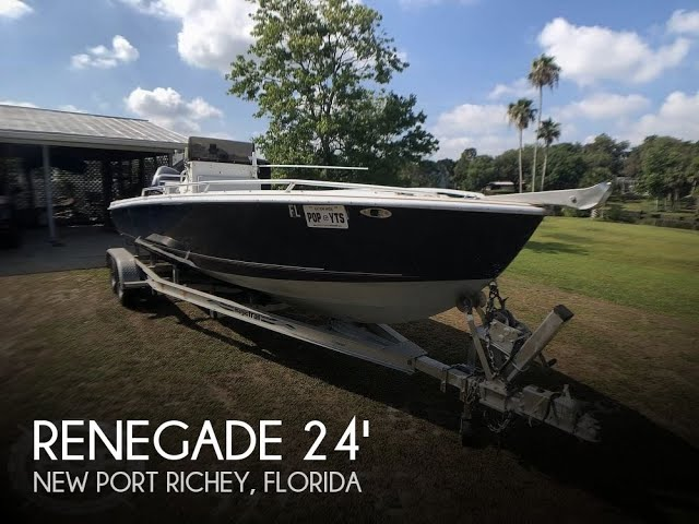 Used 1990 Renegade 24 Open FIsherman for sale in New Port Richey, Florida