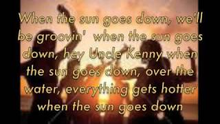Download kenny chesney when the sun goes down with lyrics MP3 song and Music Video