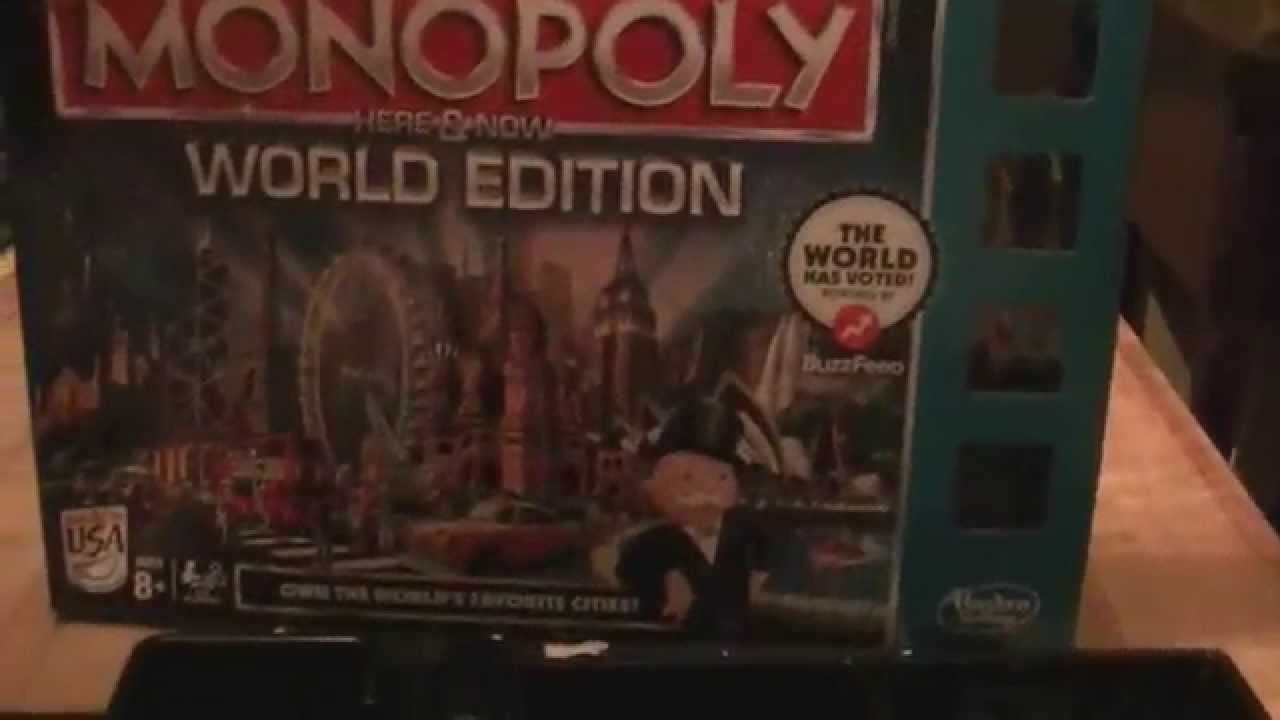 Monopoly World Edition Uk