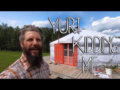 Big Secret Revealed   Yurt Kidding Me